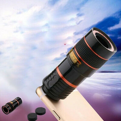 Transform Your Phone Into A Professional Quality Camera HD360 Zoom Telescope US