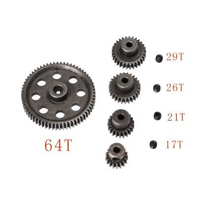 RC HSP 1/10 11176&11184 Differential Steel Main Gear 17-64T Motor Gears Parts