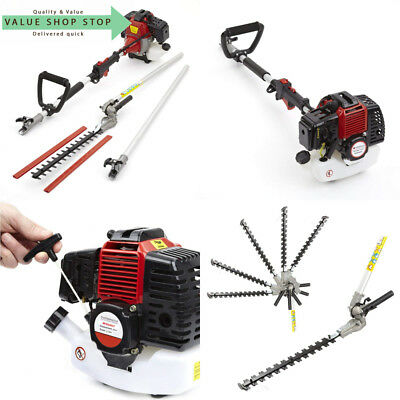 Trueshopping NEW 52CC PETROL LONG REACH POLE GARDEN HEDGE TRIMMER BRANCH...