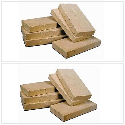 Fire Brick Fireplace Stove Parts Rutland Replacement Firebrick Wood Burning NEW
