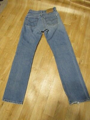 Vintage Levis 501 For Women Jeans 26 X 30  Mom high rise  light wash denim