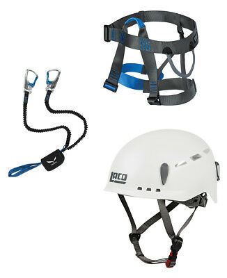 Salewa Premium Attac Klettersteigset + LACD Harness Easy 2.0+ LACD Protector 2.0
