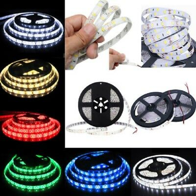 5M 10M 15M 20M 300Leds 5630 SMD Waterproof Led Strip Lights Lamp Ultra Bright