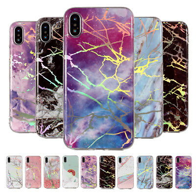 Bling Slim Marble Soft TPU Silicone Case Cover For iPhone XS Max XR X 8 7 6 Plus