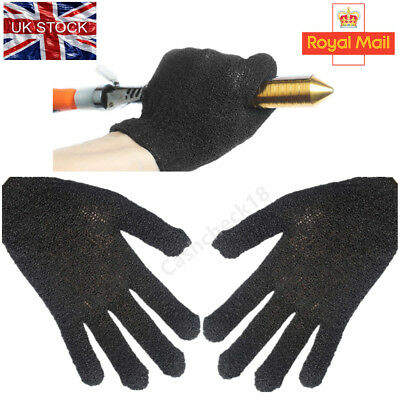 1/2PCS Heat Resistant Protective Gloves Hair Straightener Curling Tongs Wand cck