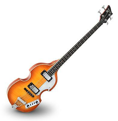 Rocktile Vb-1 Sir Paul Vintage Beatbass Rock Violin Bass Bassgitarre Sunburst