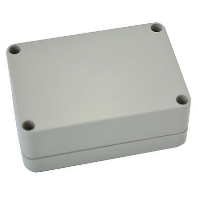 Waterproof Cover White Plastic Electronic Project Box Enclosure Case UK