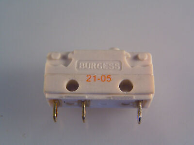 Burgess V4NT7-UL Microswitch 5A Push Button Action SPCO OM0606B