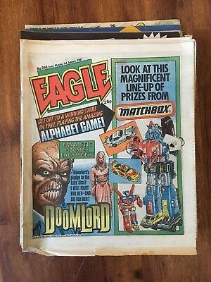 Eagle Comic 1987 14 Issues DAN DARE