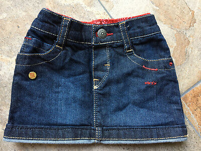 Levi's Levis Red Tab Baby Rock Jeansrock 3-6 Monate