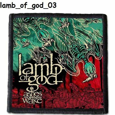 LAMB of GOD  Patch  4x4 inche (10x10 cm) new