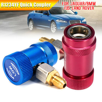 R1234YF Quick Coupler Connector Adapter High/Low For Jaguar/BMW/US Land Rover