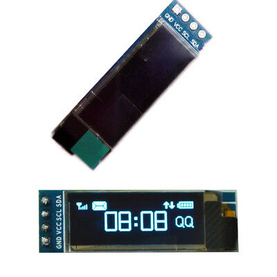"1pcs Durable 128 x 32 0.91"" OLED Display IIC DC 3.3v 5v SSD1306 OLED Module Hot"