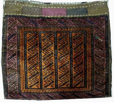 Tapis Persan Traditionnel Oriental hand made 50 cm x 55 cm  N° 46