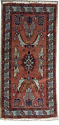 Tapis Persan Traditionnel Oriental hand made 70cm x142cm  N° 44