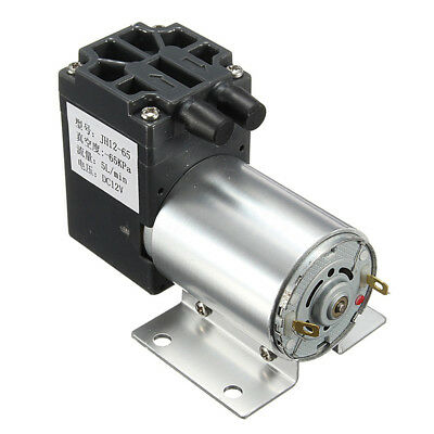 DC12V Mini Vacuum Pump Negative Pressure Suction Pump 5L/min 120kpa With Hold RP