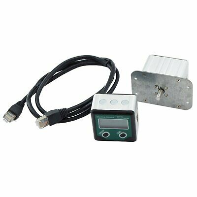 Remote Display Angle Sensor Encoder with Shaft for Rotary Table, Dividing Head