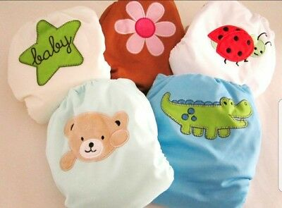 Kawaii cloth diapers COVERS ONLY