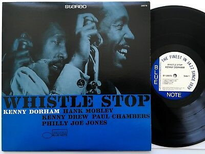 Kenny Dorham - Whistle Stop LP Blue Note USA B1 7243 8 28978 1 1