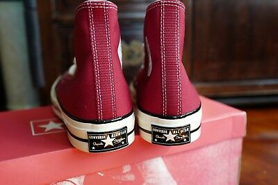 b38ee1109a5121 Last Price CONVERSE CHUCK TAYLOR ALL STAR CRIMSON 144754C 8.5 CT 70 FIRST  STRING