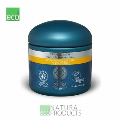Natura Siberica Faroe Islands Natural Modelling and Sculpting Body Scrub 370ml