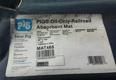 NEW PIG MAT465 Absorbent Roll, Heavy Weight, 60 gal.