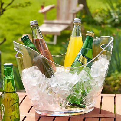4L/8L Ice Bucket Champagne Wine Drinks Cooling Beer Ice Cooler Bar Party