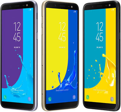 BRAND NEW Samsung Galaxy J6 SM-J600G DUAL SIM 32GB/64GB 4G LTE UNLOCKED COLOURS
