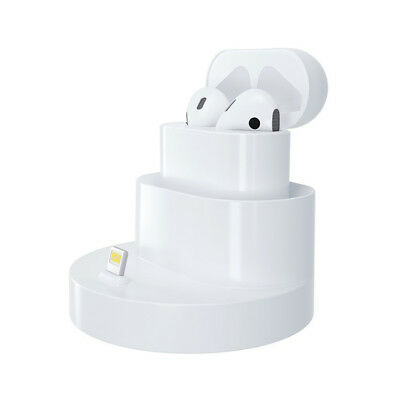 Airpods Charging Stand Dock Portable 2 in 1 Charger Dock For Apple Airpod Case