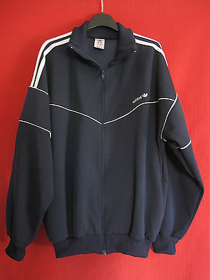 Adidas Jacket Vintage Sport 186 Xl Survetement Veste 90's Marine uFKJ3lT1c