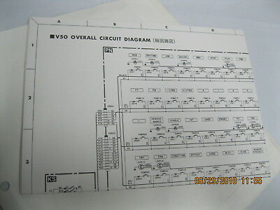 v50 synthesizer schematic  v 50 circuit schematic drawing for repair