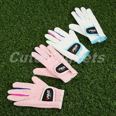 Children Golf Gloves Breathable Anti Skid Sport Gloves Indoor Outdoor Sports