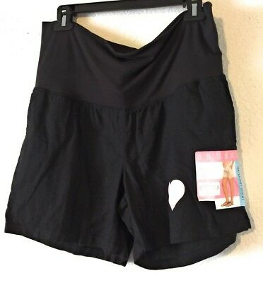 New Maternity Black  Size S Shorts Color Black Great Expectations