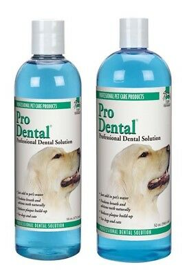 Dog & Cat Dental Solution Freshens Breath Cleans Dogs & Cats Teeth Oral Health
