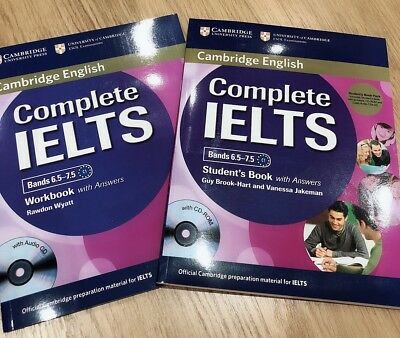 Complete IELTS Bands 6.5-7.5 Student's Book And Work Book with Answers wit