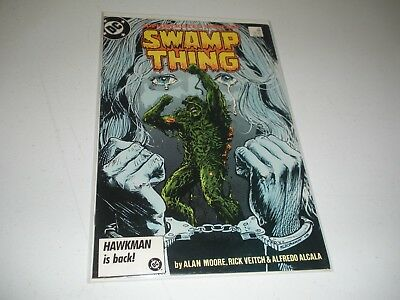 Swamp Thing #51 Alan Moore 1986 copper age DC comic book