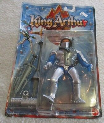 King Arthur And The Knights Of Justice Figure Sir Lancelot 1992 New Moc Rough