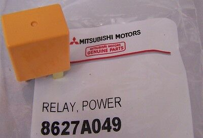 Genuine Mitsubishi Evolution X EVO 10  Fuel Pump Relay BETTER Upgrade 8627A049