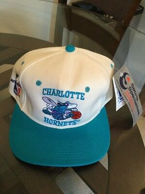 c10be39c001 NWT Vintage Charlotte Hornets Sports Specialties Wool Hat Cap 7 1 4 New W