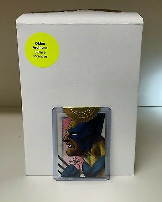 X-Men Archives 2009 - Andy Price Wolverine Sketch Card - 3 Case Incentive