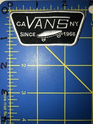 9d2ce06d0e4 Vans Patch Skateboarding Shoes Apparel Van Doren Rubber Company CA NY Since  1966