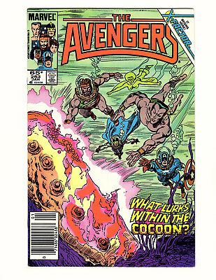 The Avengers #263 (1986, Marvel) FN/VF Newsstand Return of Jean Grey! X-Factor