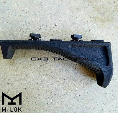 MLOK Angled Foregrip AFG Black Tactical M LOK Fore Grip For M-LOK Handguard