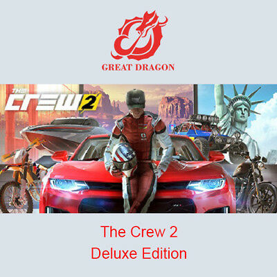[Contact Before Purchase] The Crew 2 - Deluxe Edition [PC Global]