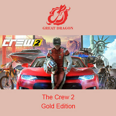 [Contact Before Purchase] The Crew 2 - Gold Edition [PC Global]