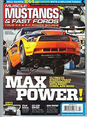 MUSCLE MUSTANGS & Fast Fords Magazine July 2012 Hellion Turbo Kit 5 0L  Coyote