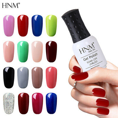 3-in-1 One Step Gel Nail Polish Soak Off Manicure No Need Top Base Coat 8ML HNM