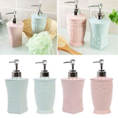 400ml Empty Liquid Pump Soap Lotion Dispenser Wash Shampoo Shower Bottle Bath