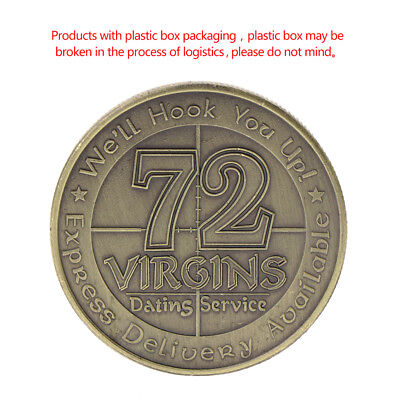 American 72 Virgins Marine Corps Commemorative Coin Collection Art Gift Souvenir