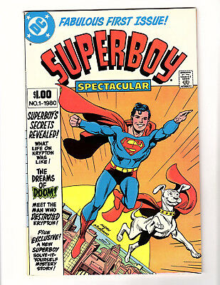 Superboy Spectacular #1 (1980, DC) VF+ Giant-Size Reprints Classic Stories